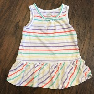 Old Navy Girls 3T Colorful Striped Tank Top